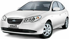 Защита двигателя на Hyundai Elantra HD (2006-2011)