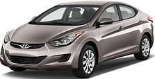 Защита двигателя на Hyundai Elantra MD (2011-2015)