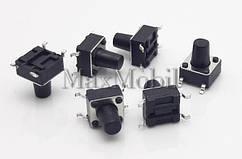 Кнопка тактовая 6 X 6 X 8 мм SMD 4-pin BS20