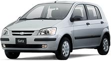 Защита двигателя на Hyundai Getz (2002-2011)
