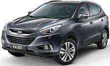 Защита двигателя на Hyundai IX35 (c 2010---)