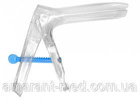 Дзеркало гінекологічне JS (поворотно-зубчаста фіксація) тип 2 №1 (розм. M)