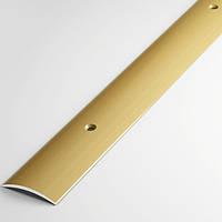 Алюминиевый порожек для пола,открытый, ширина 28 мм.