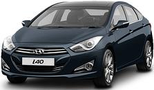 Защита двигателя на Hyundai I-40 (c 2011---)