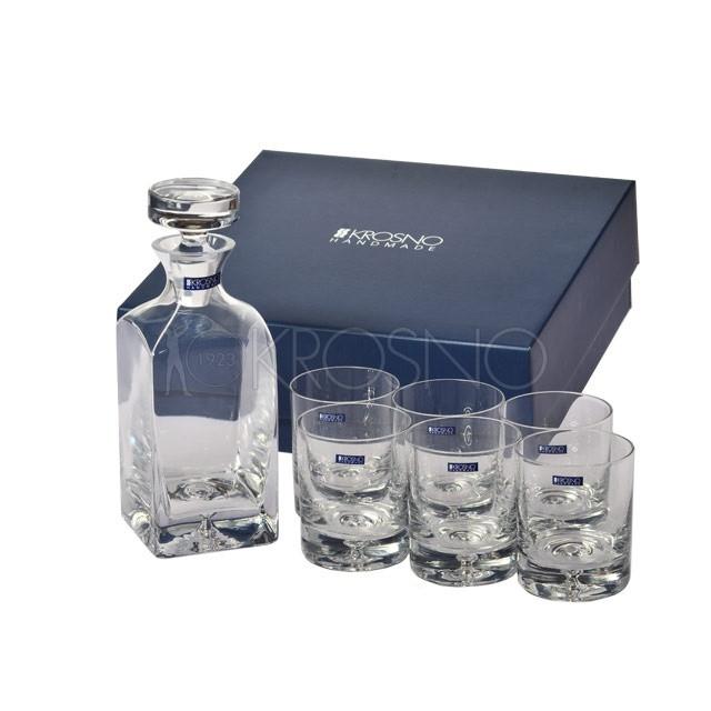 Набор для виски Krosno Saga (1+6 шт) FKP0705000001010
