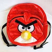 """Рюкзак Злые птицы """"Angry Birds"""" Ред, 2 отделения, красный, 30*28см, ТМ Золушка Украина(600)"""