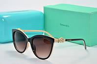 Солнцезащитные очки Tiffany Go коричневые с бежевым