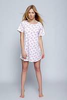Женская домашняя сорочка свободного покроя Koszula Ice cream Sensis