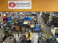 Производственный процесс Giordano Poultry Plast в Италии