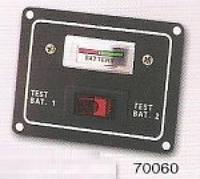 Панель на 1 перемикач і рівень заряду батареї