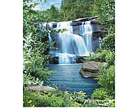 """Фотообои """"Водопад Созерцание 242х201""""                                                             Artdecor"""