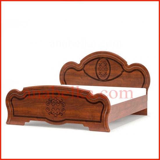 Кровать  Бароко  (Мебель  Сервис)