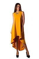 Платье вечернее оранжевое