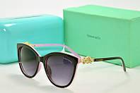 Солнцезащитные очки Tiffany Go черные с розовым