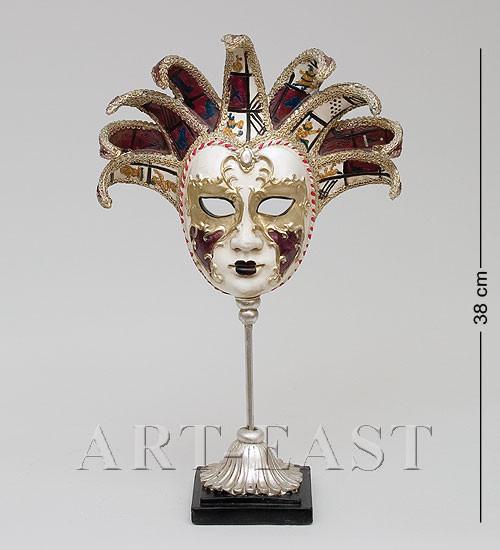 "Фигурка ""Венецианская маска""' 23,5x9x38 см., полистоун Noble Style"