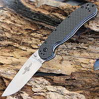 Купить Нож Ontario Rat Folder 1 D2 Carbon Fiber