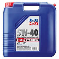Синтетическое моторное масло DIESEL SYNTHOIL 5W-40 20Л (Бесплатная доставка)