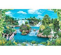 """Фотообои """"Амазонские водопады 196х350 (20Л)"""" Ника"""