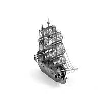 3D пазл металлический Корабль Черная жемчужина