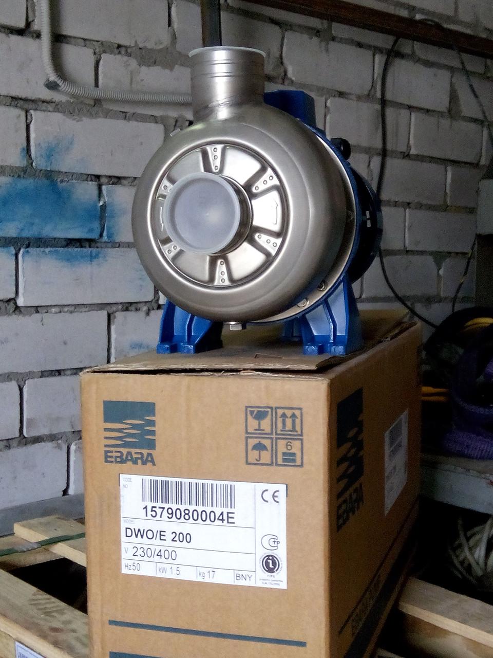 Насос Эбара с открытым рабочим колесом DWO/Е 300