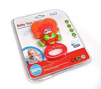 Погремушка игрушка для новорожденных Рак