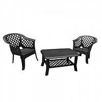 Комплект садовой мебели Veranda duo антрацит