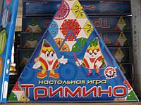 """Настільна гра """"Триміно"""", в кор. 30*20*5см, ТМ Технок, Україна (22шт)(2827)"""