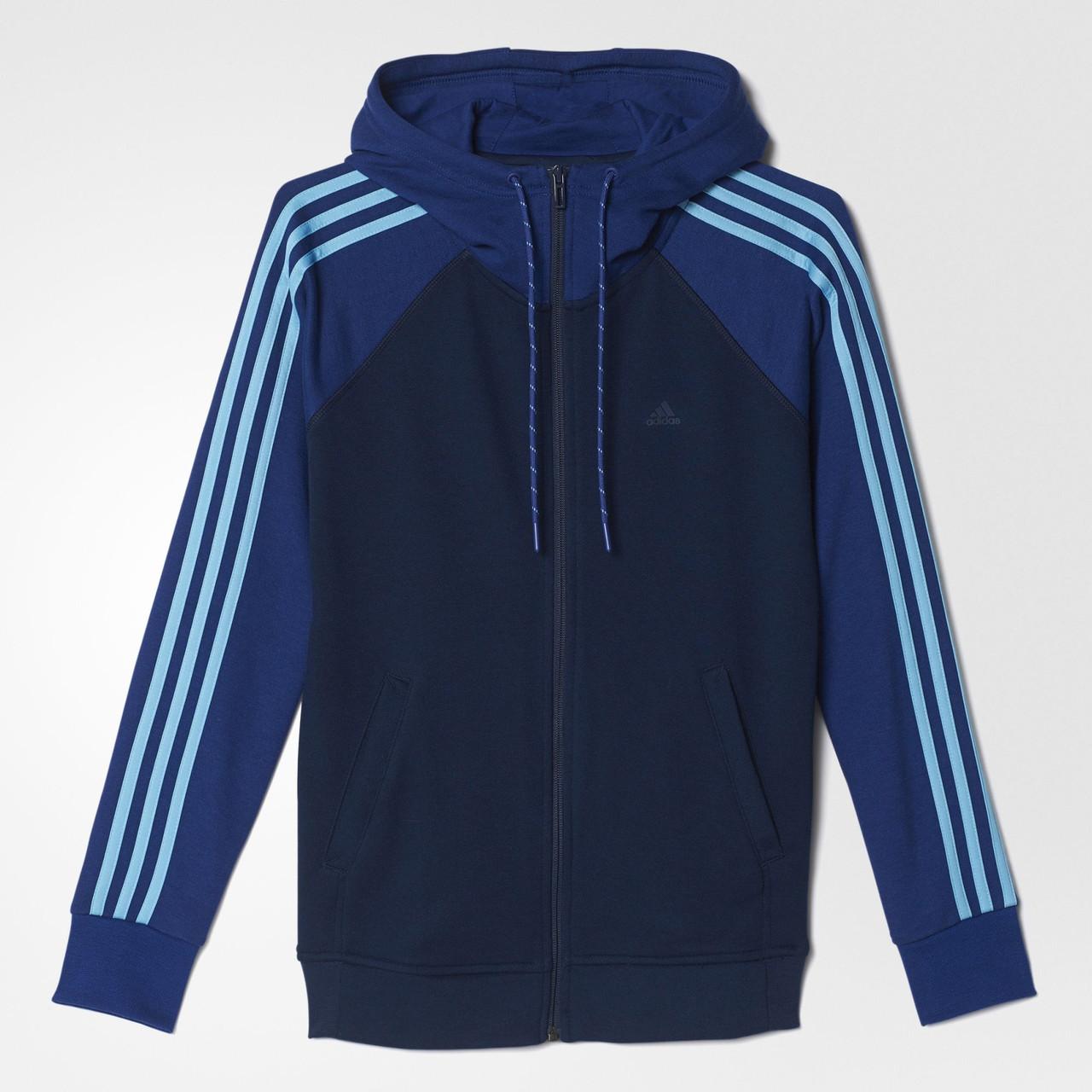 Женская толстовка Adidas Essentials 3-Stripes (Артикул  AY4804) - Адидас  официальный интернет eead5628b2c46