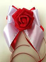 Бутоньерки на свадебную машину
