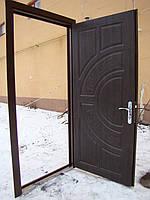 Двери входные М2плюс (Офис Титан) 860х2050