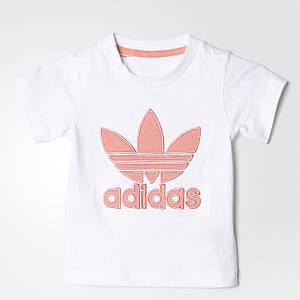 Детская футболка для малышей Adidas Quilted Trefoil (Артикул: S95952)
