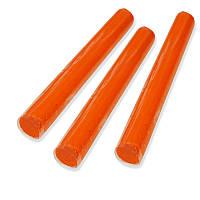 Полимерная глина Пластишка - Оранжевый, палочка 17 г, 1 шт