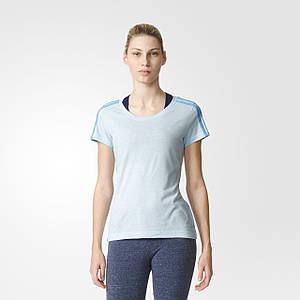 Женская футболка Adidas Essentials 3-Stripes (Артикул: AY4793)