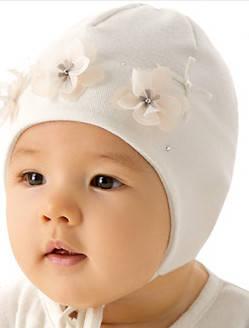 Модная шапочка для девочки лапули от Marika Польша, фото 2