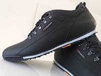 Кожаные мужские весенние кроссовки