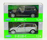 "Машина Welly,"" VW Touareg"", метал., масштаб 1:24, в кор. 23*11*10см(22452W)"