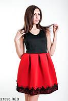 Женское платье Sharon, красное