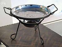 Садж для подогрева шашлыка (блюдо)28 см