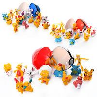 """Фигурка """"Pokemon Go"""", ловушка-шарик, 7см, герои, 2 вида, в пак. 18*13*5см (72шт)(160812)"""