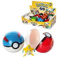 """Фигурка """"Pokemon Go"""", ловушка-шарик, 7см, цена за уп., в уп. 8шт,на диспл. 28*14,5*7см (240шт)(18706)"""
