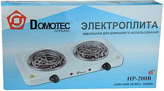 Электроплита Domotec HP-200B Конфорочная