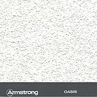 Плита ARMSTRONG OASIS, 600х600 мм. пачка 20 шт.