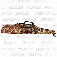 """Чехол для охотничьей винтовки длиной до 125 см, ПВХ пропитка, камуфляж """"камыш"""", фото 1"""