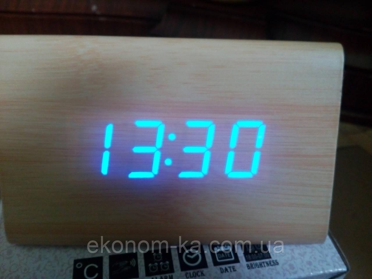 Электронные цифровые настольные часы