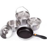 Набор туристической посуды Kovea All-3PLY Stainles Cookware(7~8) KKW-CW1105 (8806372095796)