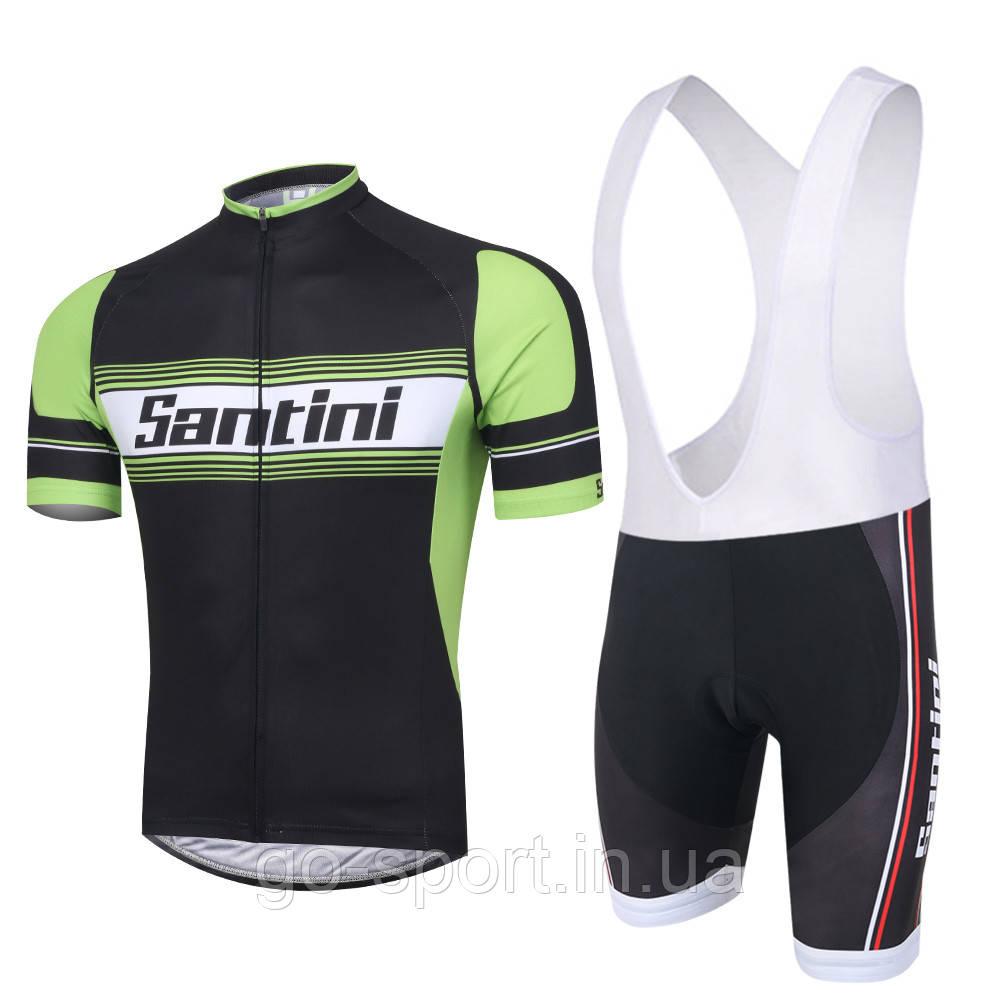 Велоформа Santini 2016 bib  v2