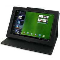 Кожаный чехол для Acer Iconia Tab A500/ A501 черный 10.1
