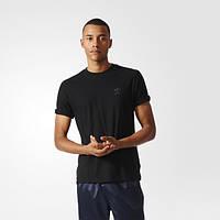 Футболка спортивная для мужчин adidas Originals Deluxe BJ9532 черная - 2017