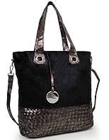 Стильная женская сумочка 037 BROWN