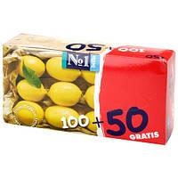 Салфетки универсальные Bella Лимон, 100+50 шт.